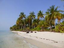 Thinakara-Insel Stockbild