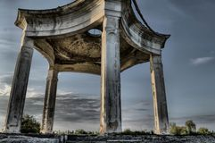 The thing. A strange but beautiful abandoned place Royalty Free Stock Image