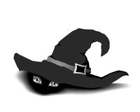 The Thing under witch hat Royalty Free Stock Image