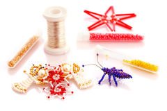 Things from beads Royalty Free Stock Image