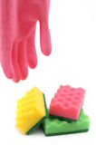 Things for house care and cleaning Stock Photography