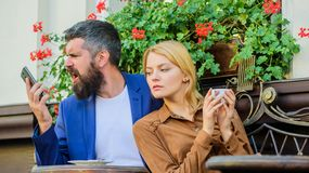 Things know before you date entrepreneur businessman. Find and date businessman. Dating businessman. Couple in love sit. Cafe terrace enjoy coffee while men royalty free stock image
