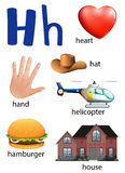 Things that start with the letter H Royalty Free Stock Images