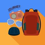 Things to travel Royalty Free Stock Photography