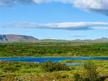 Thingvallavatnmeer in IJsland - 2 Royalty-vrije Stock Fotografie