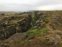 Thingvellir国家公园 库存照片