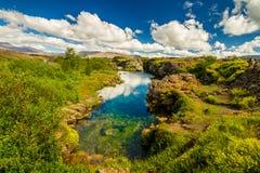 Thingvellir国家公园 库存图片