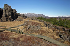 thingvellir Obraz Stock