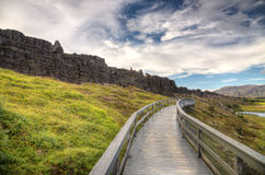 Thingvellir Photo libre de droits
