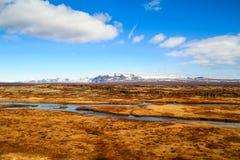 Thingvellir Στοκ φωτογραφία με δικαίωμα ελεύθερης χρήσης