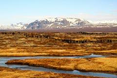 Thingvellir Στοκ εικόνα με δικαίωμα ελεύθερης χρήσης