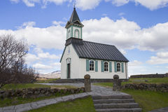 Thingvellir Church Stock Photo