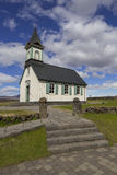 Thingvellir Church Royalty Free Stock Photography