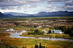 Thingvellir, Iceland Royalty Free Stock Photography