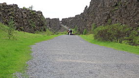 Thingvellir (Iceland) stock video
