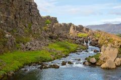 Thingvellir. Iceland. Royalty Free Stock Photography