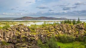 Thingvellir. Iceland. Stock Images