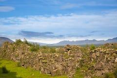 Thingvellir. Iceland. Royalty Free Stock Image