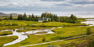 Thingvellir. Iceland. Royalty Free Stock Photos