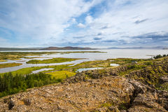 Thingvellir. Iceland. Stock Photo