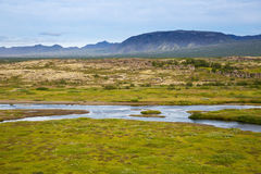 Thingvellir. Iceland. Royalty Free Stock Photography