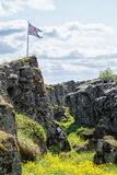 Thingvellir iceland national park Royalty Free Stock Image