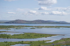 Thingvellir iceland national park Royalty Free Stock Photography