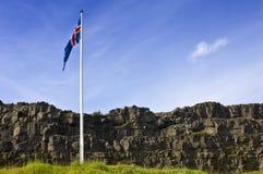 Thingvellir, Islândia Imagens de Stock