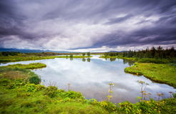 Thingvellir Island Royaltyfria Foton
