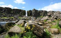 Thingvellir, Islanda Immagine Stock Libera da Diritti