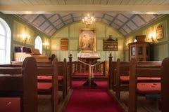 Thingvellir kościół Fotografia Royalty Free