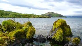 Thingvellir  lake, Iceland stock footage
