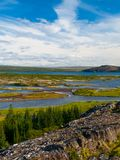 Thingvellir lakes Royalty Free Stock Images