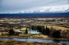 Thingvellir Nationaal Park in IJsland - 2 Stock Afbeeldingen