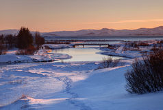 Thingvellir is a national park royalty free stock photography