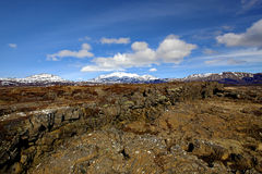 Thingvellir national park Stock Image