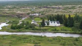 Thingvellir National Park Iceland royalty free stock photo