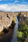 Thingvellir National Park - Iceland Stock Photo