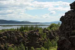 Thingvellir National park, Iceland Royalty Free Stock Image