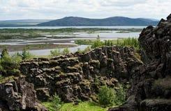 Thingvellir National park, Iceland Royalty Free Stock Photos