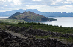 Thingvellir National park, Iceland Royalty Free Stock Photography