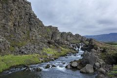 Thingvellir National Park in Iceland Royalty Free Stock Photography