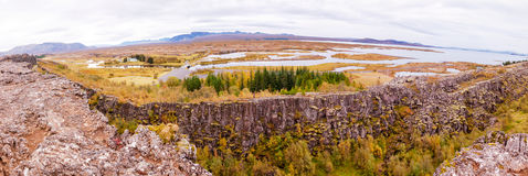 Thingvellir national park, Iceland Royalty Free Stock Photo