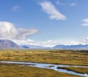 Thingvellir National Park in Iceland Royalty Free Stock Photo