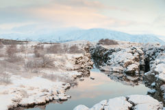 Thingvellir National Park Iceland Stock Image
