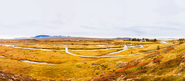 Thingvellir national park, Iceland Stock Photography