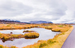 Thingvellir national park, Iceland Royalty Free Stock Photos