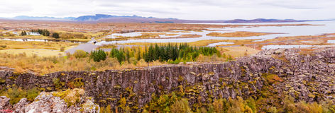Thingvellir national park, Iceland Royalty Free Stock Image