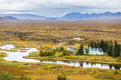 Thingvellir national park in Iceland Stock Photos