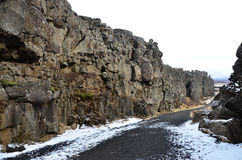 The Thingvellir national park Stock Images